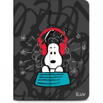 iLuv Snoopy Folio iPad Air / iPad Air 2 Kılıf ve Stand / Gri